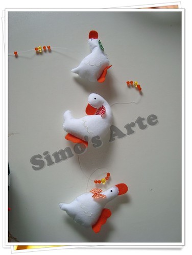 Mobile patinhos by Artes by Simo's®