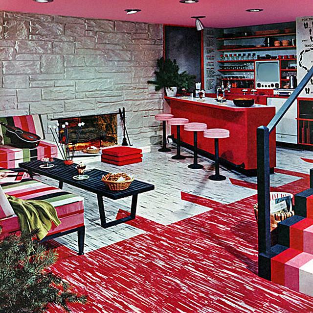 Image Result For Red Shag Carpet