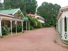 A Street in The Village of Gold Reef City