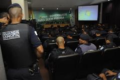 Ciclo de palestras da Guarda Municipal.