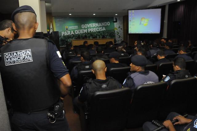 29/06/2017. Ciclo de palestras-Guarda Municipal.Fotos:Rodrigo Clemente/PBH