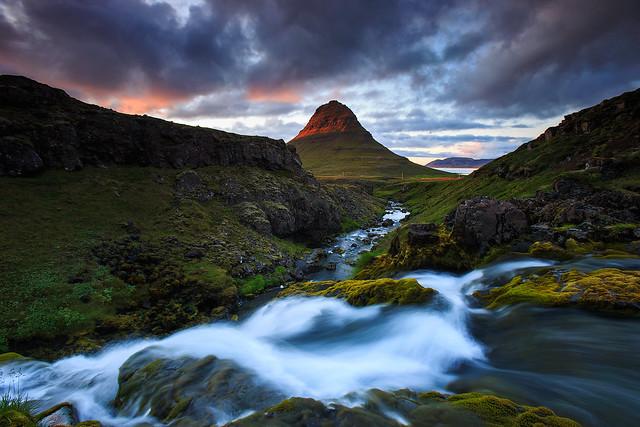 Famous Kirkjufell, Iceland