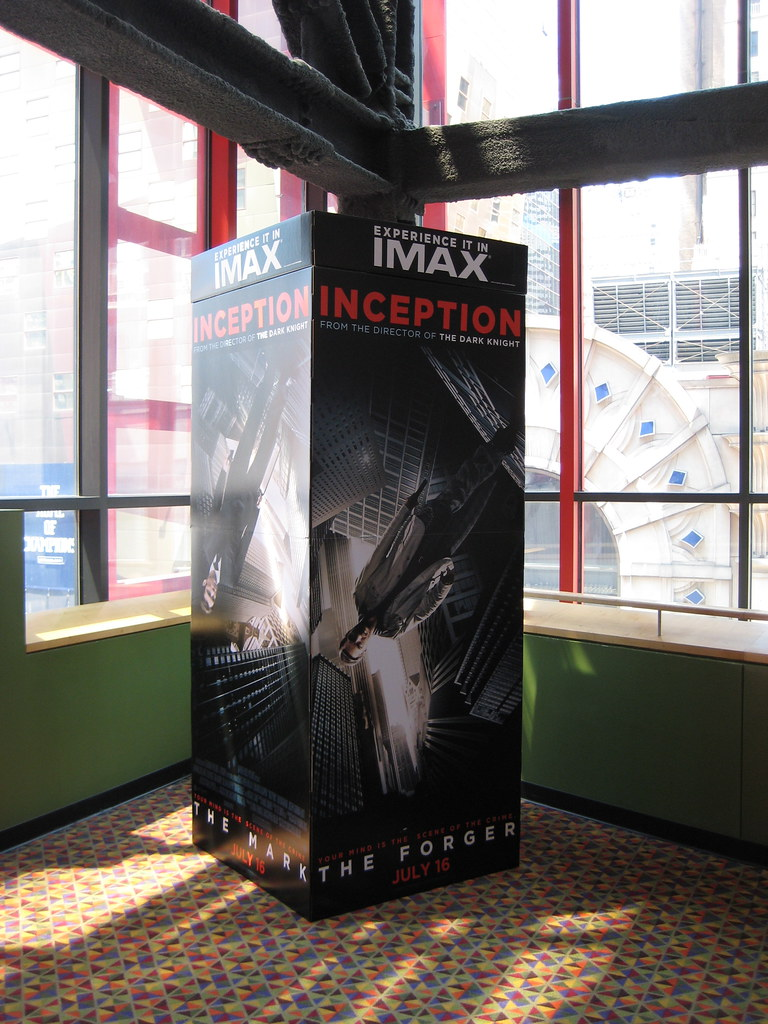 Christopher Nolan 's Inception Billboard movie poster standee 5431