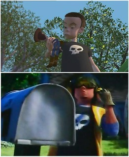 Sid's Cameo in Toy Story 3