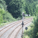Shirley Station, Haslucks Green Road, Shirley - Old signals