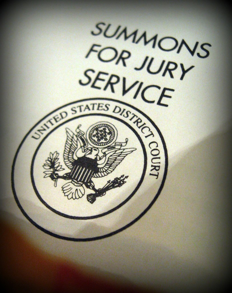 SUMMONS FOR JURY SERVICE