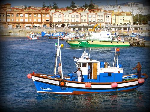 Un pesquero en Tarifa