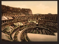 [Interior of Coliseum, Rome, Italy] (LOC)
