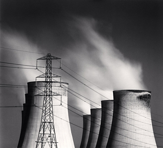 Ratcliffe Power Station, Study 64, Nottinghamshire, by Michael Kenna 2003