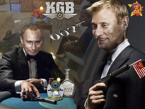 "QUANTUM of PUTIN (""My name is Bond, Vladimir Bond!"")"