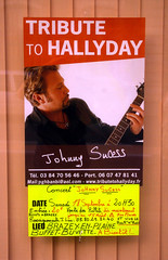 Seurre: tribute to Hallyday