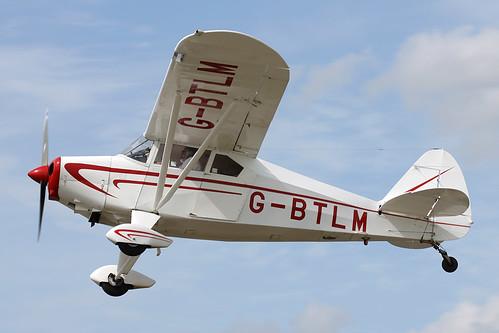 Piper PA-22-160 Tri-pacer (Tailwheel conversion )  G-BTLM
