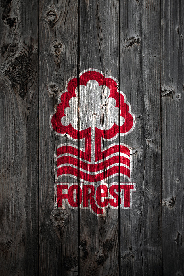 Nottingham Forest Fc Wood Iphone 4 Background A Photo On