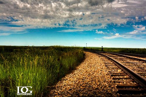 road railroad train canon rail davin prairie saskatchewan hdr highdynamicrange limerick sask eos450d top20hdr gegolick daving rebelxsi davingphotography