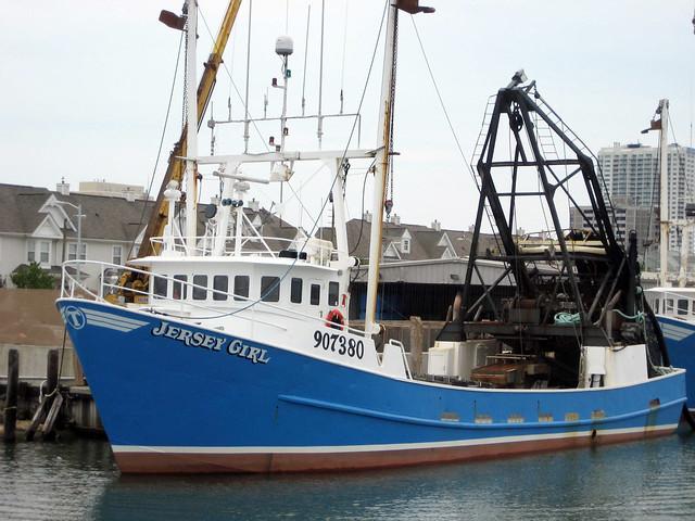 Jersey girl clam fishing boat atlantic city nj for Fishing boats nj