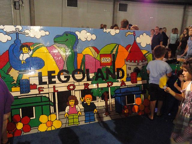 Legoland florida entrance mural flickr photo sharing for Cypress gardens mural