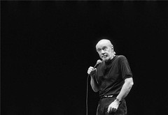 George Carlin, by Rowland Scherman