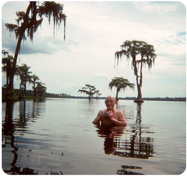 Swampy Photographer — 1970