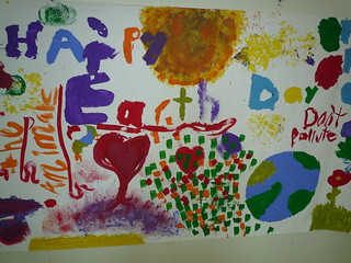 Artwork done at the Earth Day Kids Fest '10