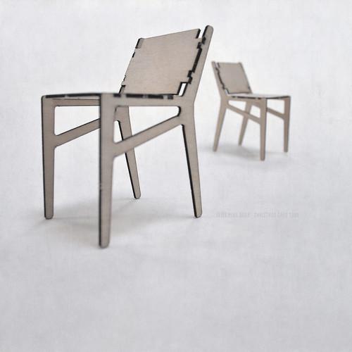 seier+seier plywood chair christmas card