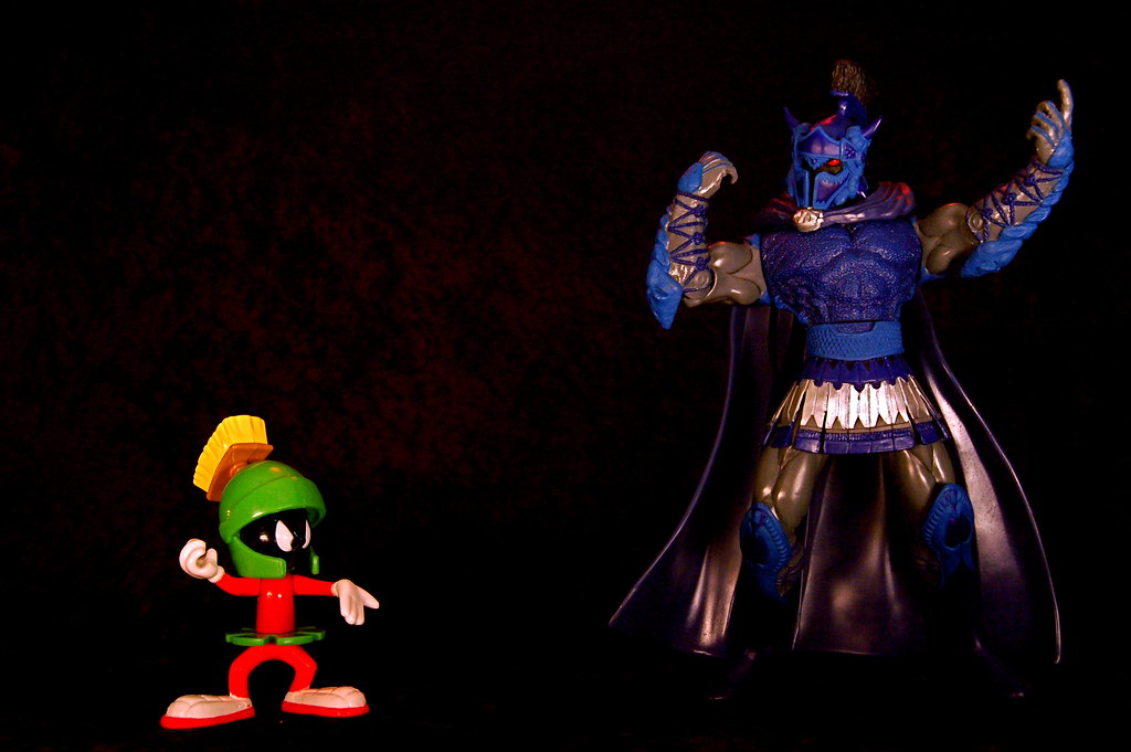 Marvin the Martian vs. Ares (196/365)