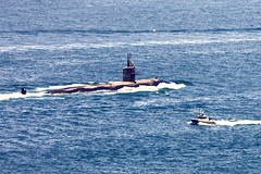 vehicle, submarine, sea, boating, watercraft, boat,