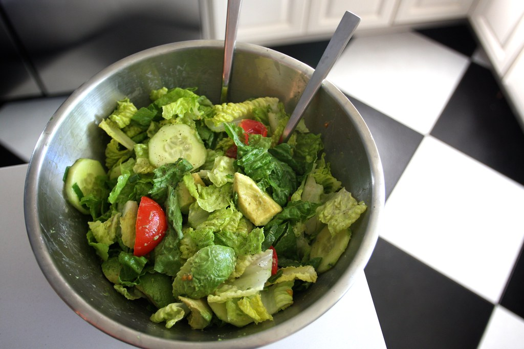 Mom S Green Salad Shutterbean