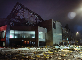 Hartford Civic Center Roof Collapse, 1978