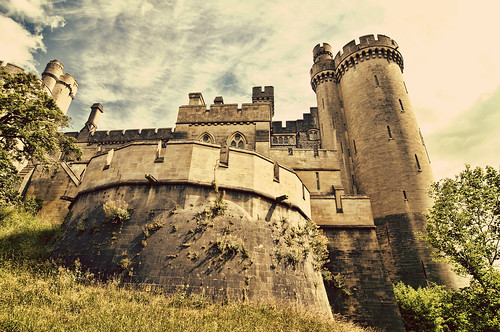 Turrets of Arundel Castle