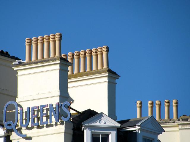 Queen's chimneys