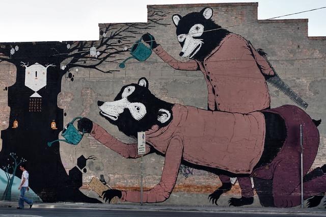 wall painting in santarcangelo II
