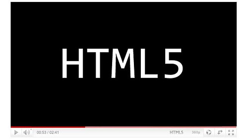 Youtube HTML5 Flash