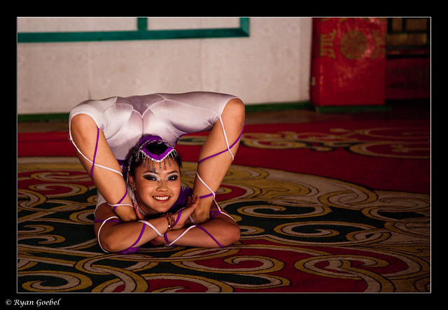 Ouch! - A Mongolian Contortionist