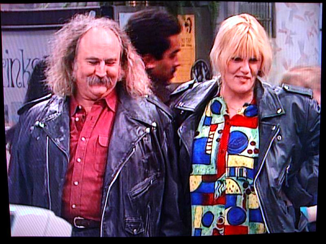 Crosby cameo on Roseanne (with Bonnie Bramlett as Bonnie ...