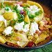 Pasta with Chilies, Burrata, and Pancetta
