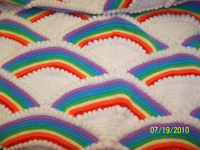 Feather and Fan Afghan | Number 742-5 | Afghan Pattern | Free