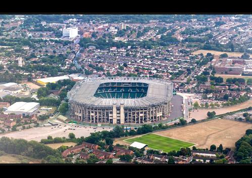 Twickenham Stadium History Twickenham Stadium From The