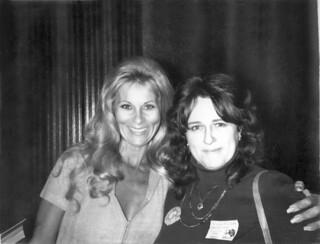 Grace Lee Whitney (Yeoman Janice Rand of Star Trek) and Jean Hart - Dec 5, 1976