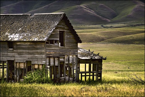 washington palouse abandonedbarn