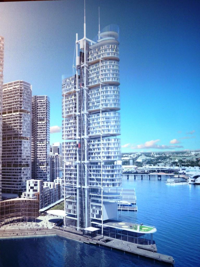 Construction | BARANGAROO | Crown Hotel Sydney | 75st/271m | Hotel