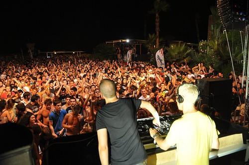 Above & Beyond @ Versus presents A&B,Makronisos Beach, Ayia Napa, Cyprus