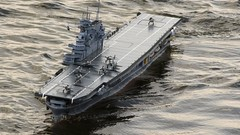 aircraft carrier, naval ship, vehicle, ship, navy, amphibious assault ship, dock landing ship, watercraft,