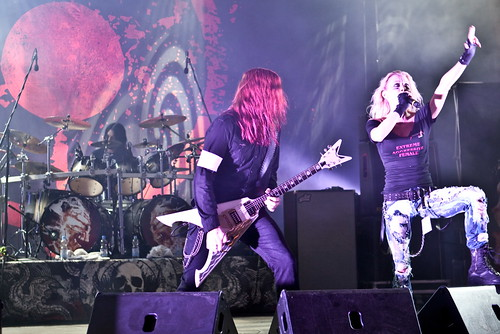 ARCH ENEMY @ Rock Area Festival Germany 2010 (Credit: Andreas Krispler on Flickr.com)