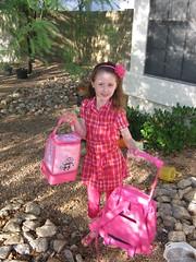Meg's 1st day of school