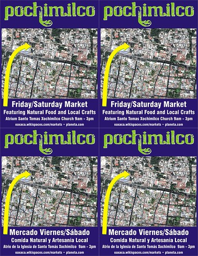 Meet me at the Pochimilco Market = Me encuentras en el Mercado Pochimilco (Free Map!)