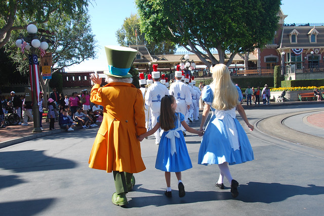 Alice and Alice join the parade