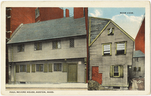 Paul Revere House, Boston, Mass.  [front]
