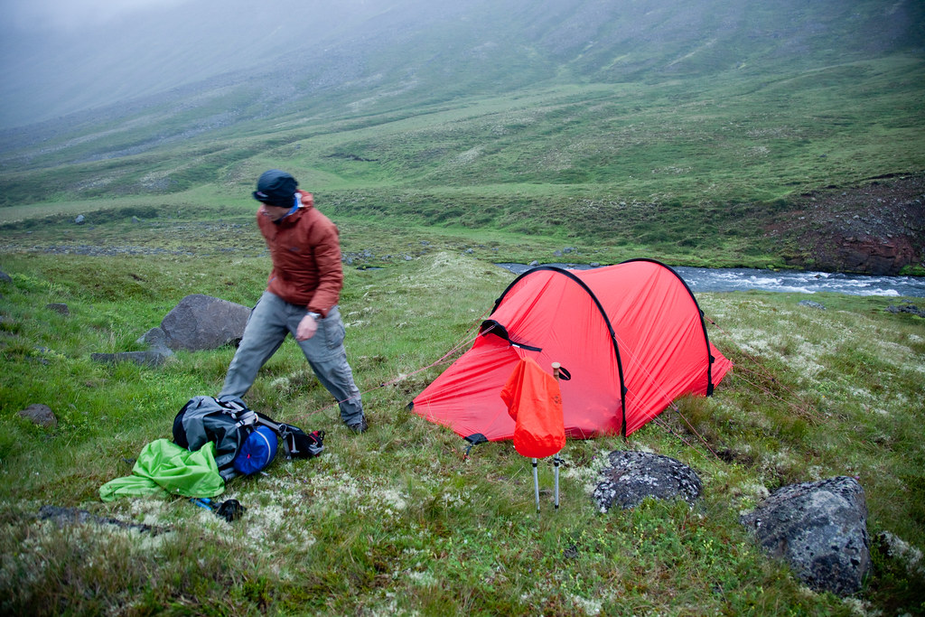 Rainy camp