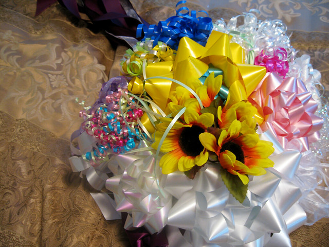 Wedding CraftinessBow Bouquets