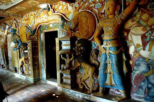 Mulkirigala Rock historical temple, Sri Lanka